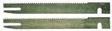 """Bosch 1575A/1575 Foam Rubber Cutter Replacement 5"""" Blade Set # 2607018010"""