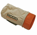 Ridgid R2611 R.O. Sander Replacement Dust Bag Assembly # 300027056
