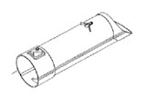 Black and Decker LSWV36 Blower Vac Replacement Vacuum Tube # 90569743