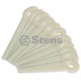 Stens 390-040 Replacement Nylon Trimmer Blades for Stihl 4111 007 1001,12-Pack