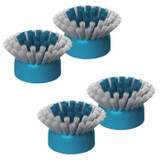 Black and Decker BHPC100A Grimebuster Bristle Brush Replacement Heads, 4 Pack
