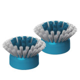 Black and Decker BHPC100A Grimebuster Bristle Brush Replacement Heads,2 Pack