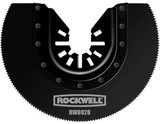 Rockwell 3-1/8 Inch Sonicrafter Oscillating Multitool HSS Semicircle Saw Blade with Universal Fit System # RW8928