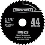 Rockwell VersaCut 3-3/8 Inch 44T HSS Circular Saw Blade # RW9229