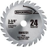 Rockwell VersaCut 3-3/8 Inch 24T Carbide-tipped Circular Saw Blade # RW9231