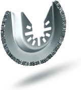 Rockwell RW8926 2-1/2 Inch Sonicrafter Oscillating Multitool Diamond Coated Semicircle Saw Blade