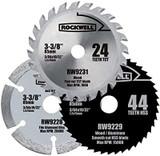 Rockwell VersaCut 3-piece Circular Saw Blade Set # RW9232K