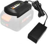 WORX 40v MAX Lithium Ion Battery Charger for WA3580 Battery # WA3747