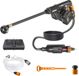 WORX Hydroshot Ultra 2×20V High Pressure Hand Held Cleaner Battery and Charger Included # WG649