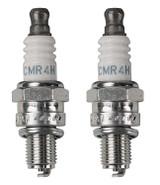 NGK 2 Pack of Genuine OEM Replacement Spark Plugs # CMR4H-2PK