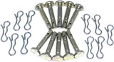 MTD 10 Pack of Genuine OEM 1.5x.25in Shear Pins and Cotter Pins # 738-05273-10PK