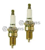 MTD 951-10292 Pack of 2 Spark Plugs (F6RTC)