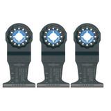 Bosch 2 Pack of OEM 1-3/4in Starlock Carbide Plunge Cut Blades # OSL134C-2PK