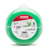 """Oregon Trimmer Line - 21-480 - Green Gatorline - Square - .080"""" Gauge, 1 lb. Donut, 327 Feet"""