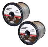 Oregon 2 Pack of Genuine OEM Replacement Trimmer Lines # 22-195-2PK