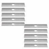 Rotary 10 Pack of Genuine OEM Replacement Edger Blades # 6477-10PK