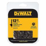 DeWalt Genuine OEM Replacement Cutting Chain # DWO1DT612