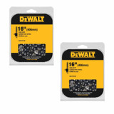DeWalt 2 Pack of Genuine OEM Replacement Cutting Chains # DWO1DT616T-2PK
