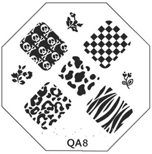 Animal Print Plate QA8