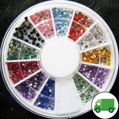 1.5mm Rhinestone Wheel