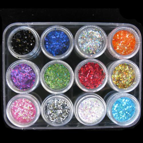 1.5mm Hexagon Glitter Set