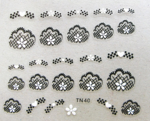 3D Flower Sticker TN40