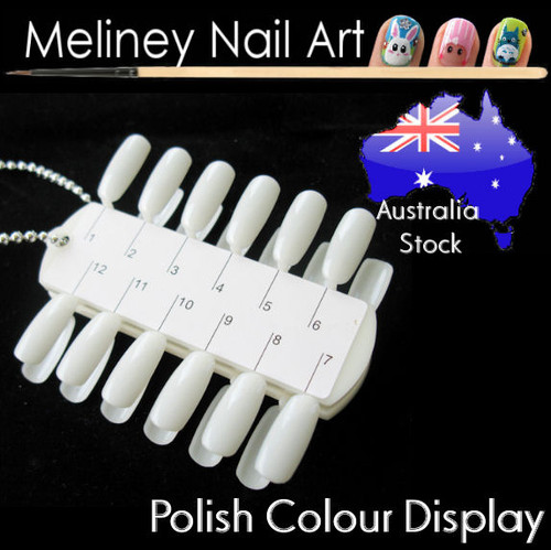 nail polish colour display chart