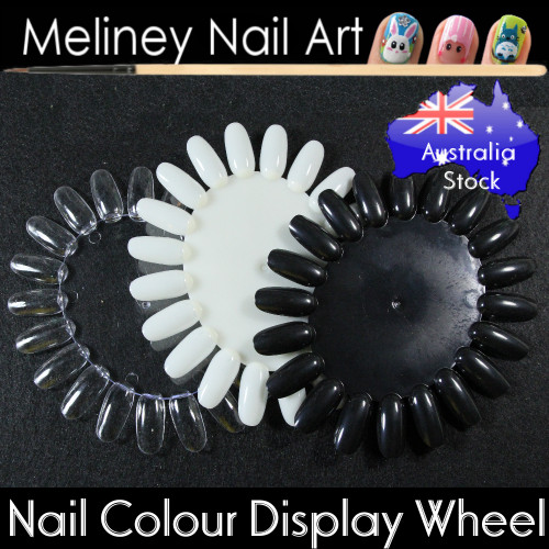 nail colour display wheel