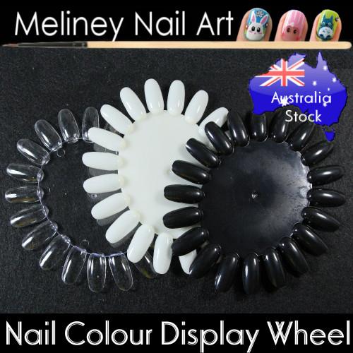 nail colour display wheel