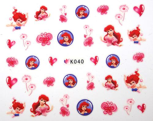 Little Mermaid Stickers