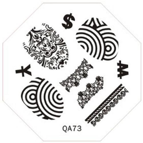 Fingerprint Image Plate QA73
