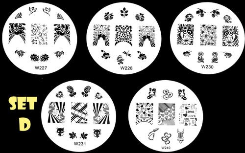 W Series Image Plate Sets