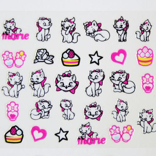 marie nail sticker