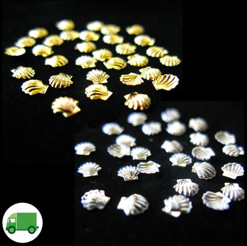 Metal Sea Shells