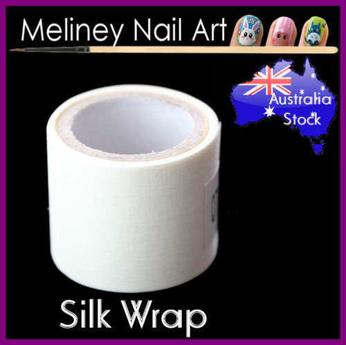 silk wrap for repairing broken nails
