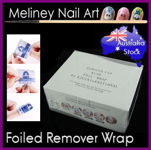 Acetone Foil remover pads wipes