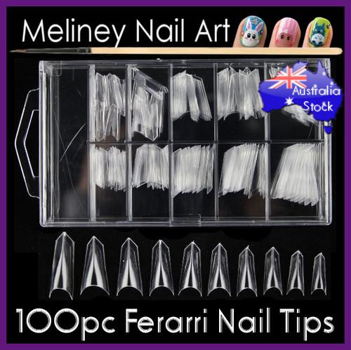 ferrari nail tips