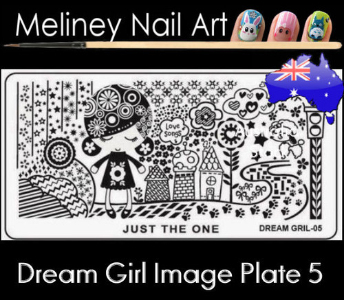 Dream Girl 05 Image plate