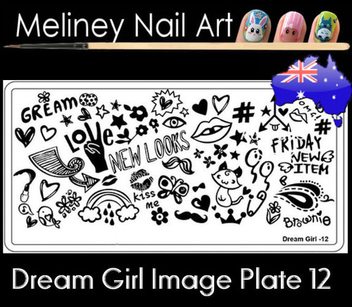 Dream Girl 12 Image plate