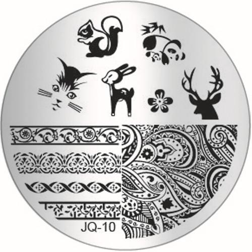 JQ-10 Image Plate christmas