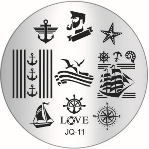 JQ-11 Image Plate Nautical
