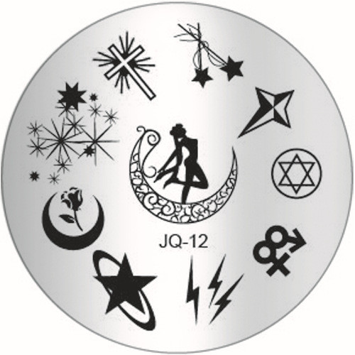 JQ-12 Image Plate sailor moon