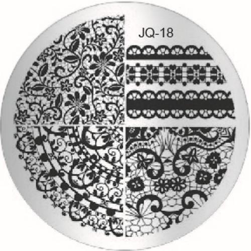 JQ-18 Image Plate lace