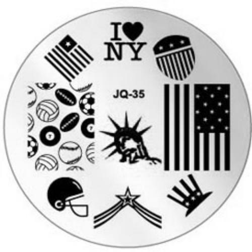 JQ-35 Image Plate