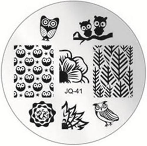 JQ-41 Image Plate owl