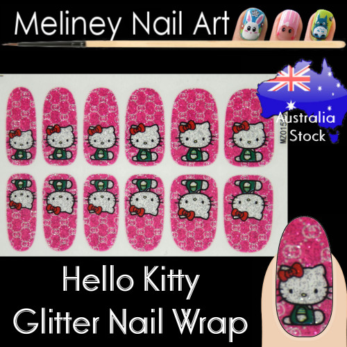 hello kitty nail wraps
