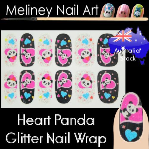 panda nail wraps