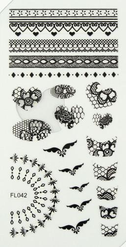 Lace Sheet (FL042 Black)