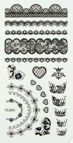 Lace Sheet (FL043 Black)