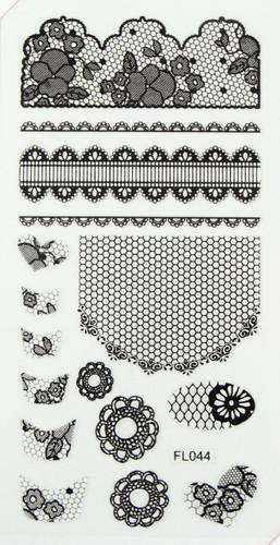 Lace Sheet (FL044 Black)